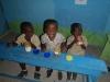 Three happy kids